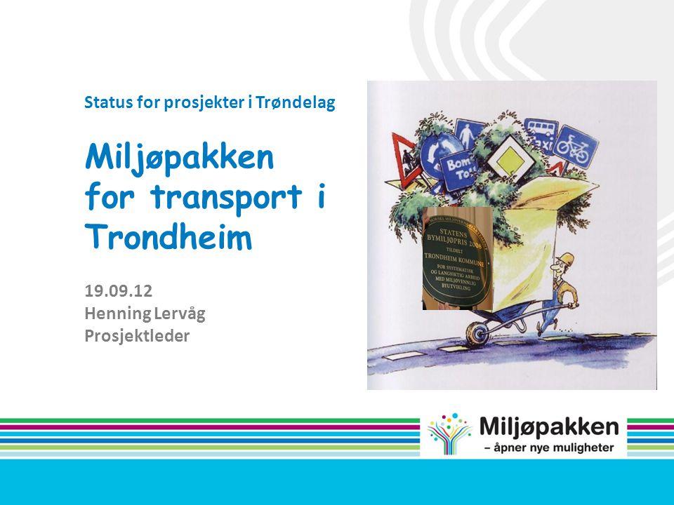 Miljøpakken for transport i Trondheim