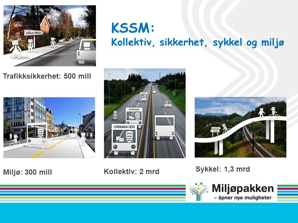 Trafikksikkerhet: 500 mill