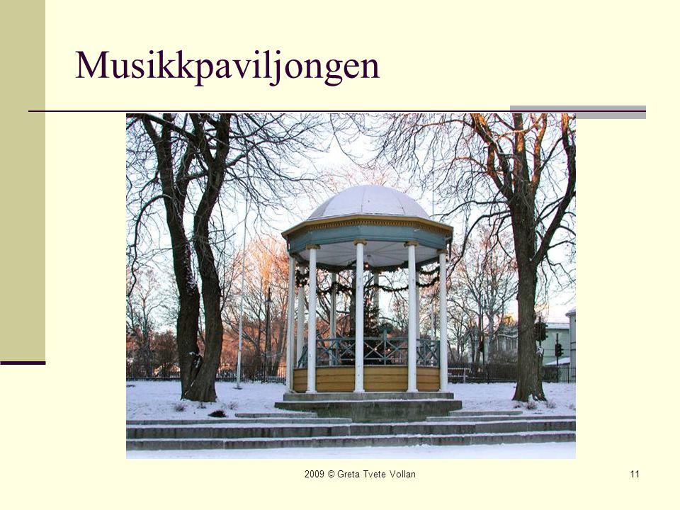 Musikkpaviljongen 2009 © Greta Tvete Vollan