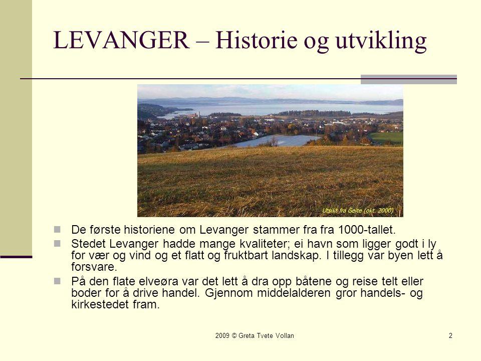 LEVANGER – Historie og utvikling