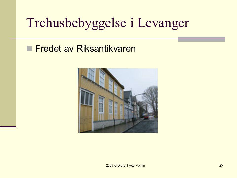 Trehusbebyggelse i Levanger