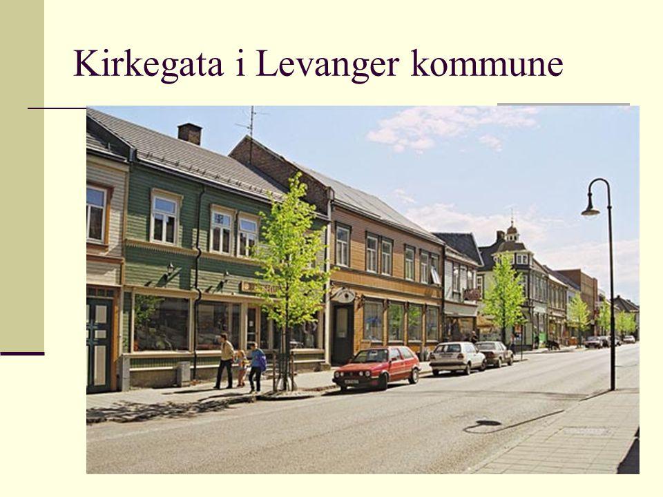 Kirkegata i Levanger kommune