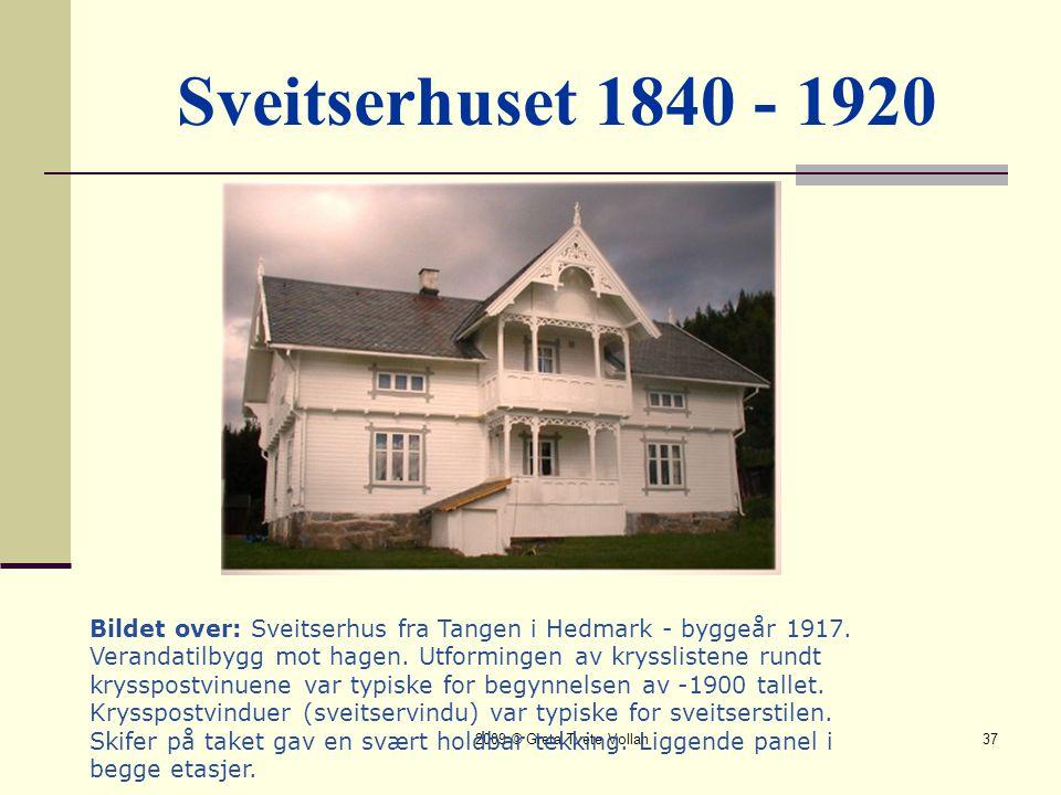Sveitserhuset 1840 - 1920