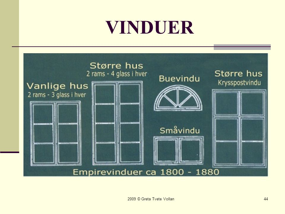 VINDUER 2009 © Greta Tvete Vollan