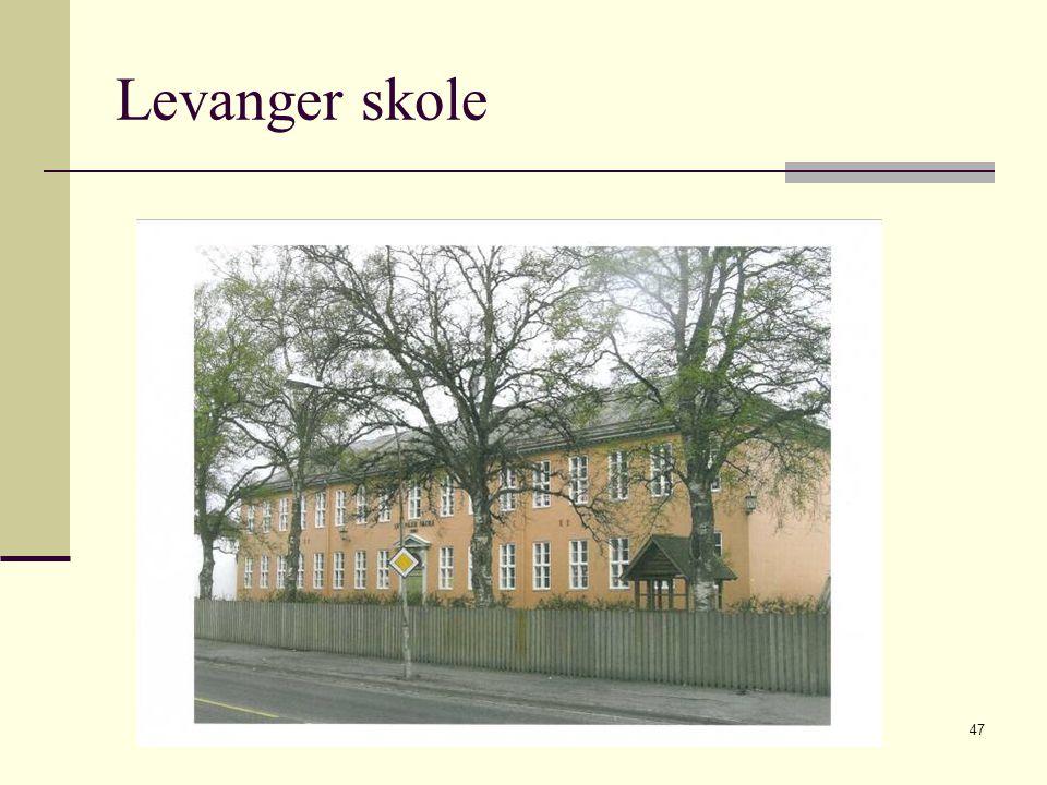 Levanger skole 2009 © Greta Tvete Vollan