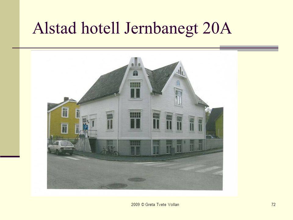 Alstad hotell Jernbanegt 20A