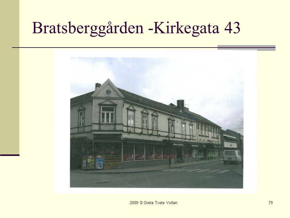 Bratsberggården -Kirkegata 43