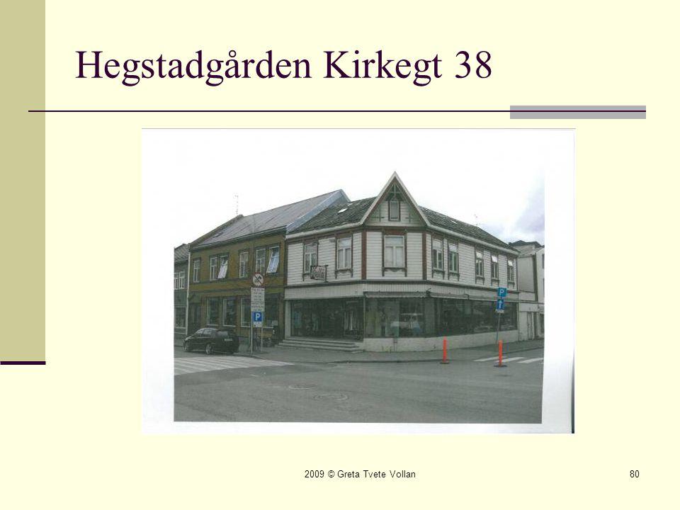 Hegstadgården Kirkegt 38