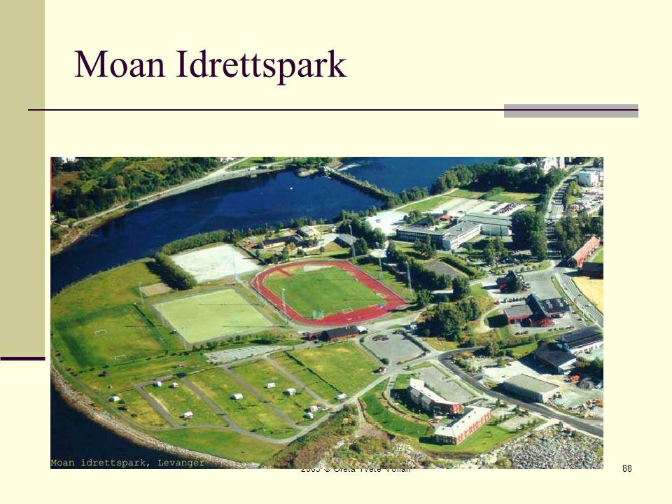Moan Idrettspark 2009 © Greta Tvete Vollan