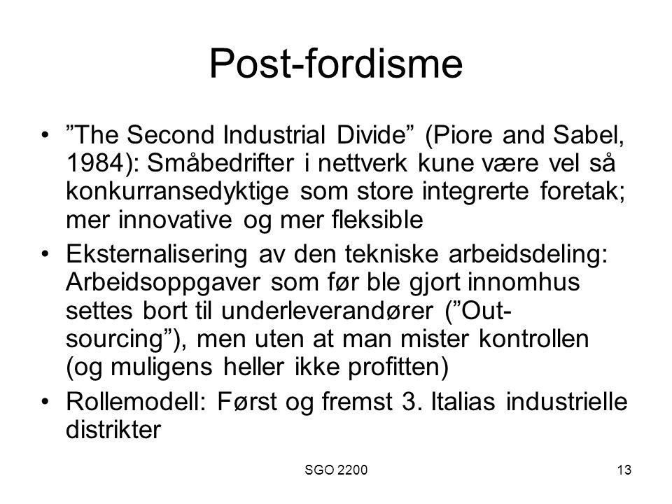 Post-fordisme