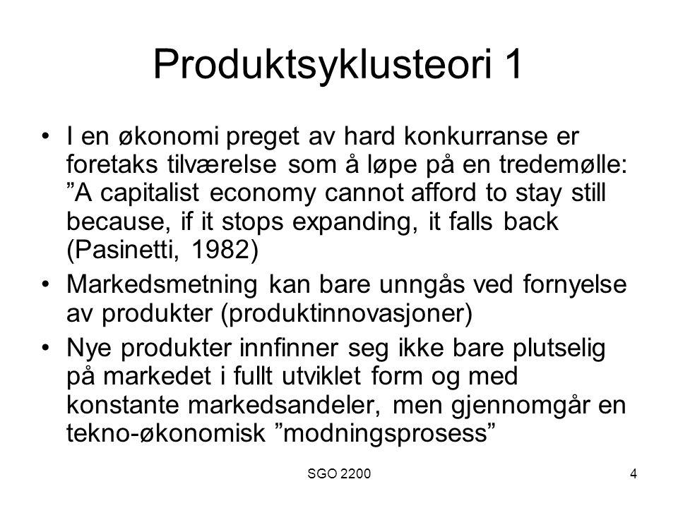Produktsyklusteori 1