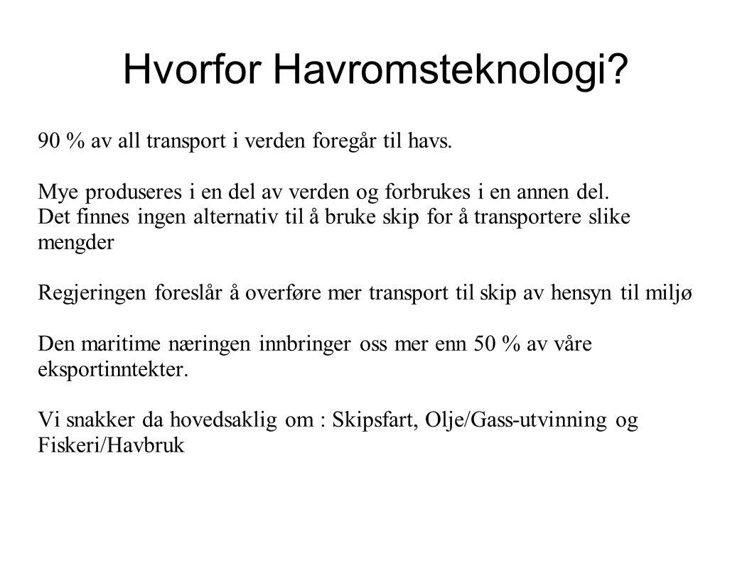 Hvorfor Havromsteknologi