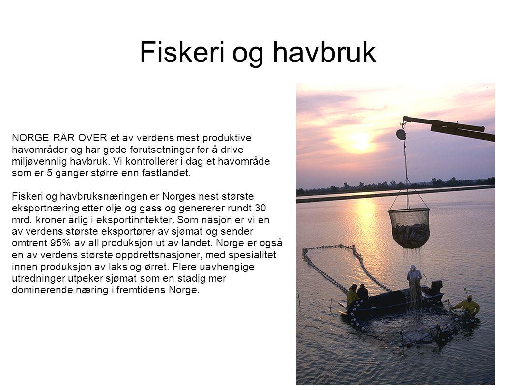 Fiskeri og havbruk