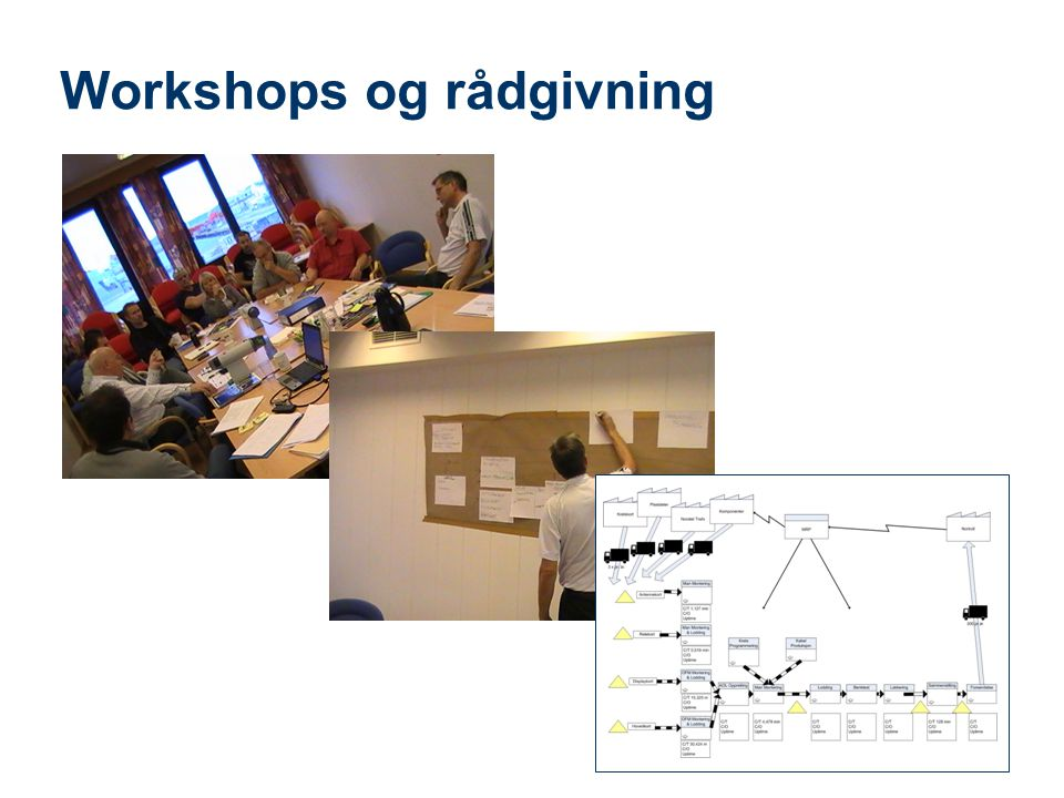 Workshops og rådgivning
