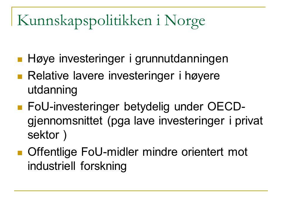 Kunnskapspolitikken i Norge