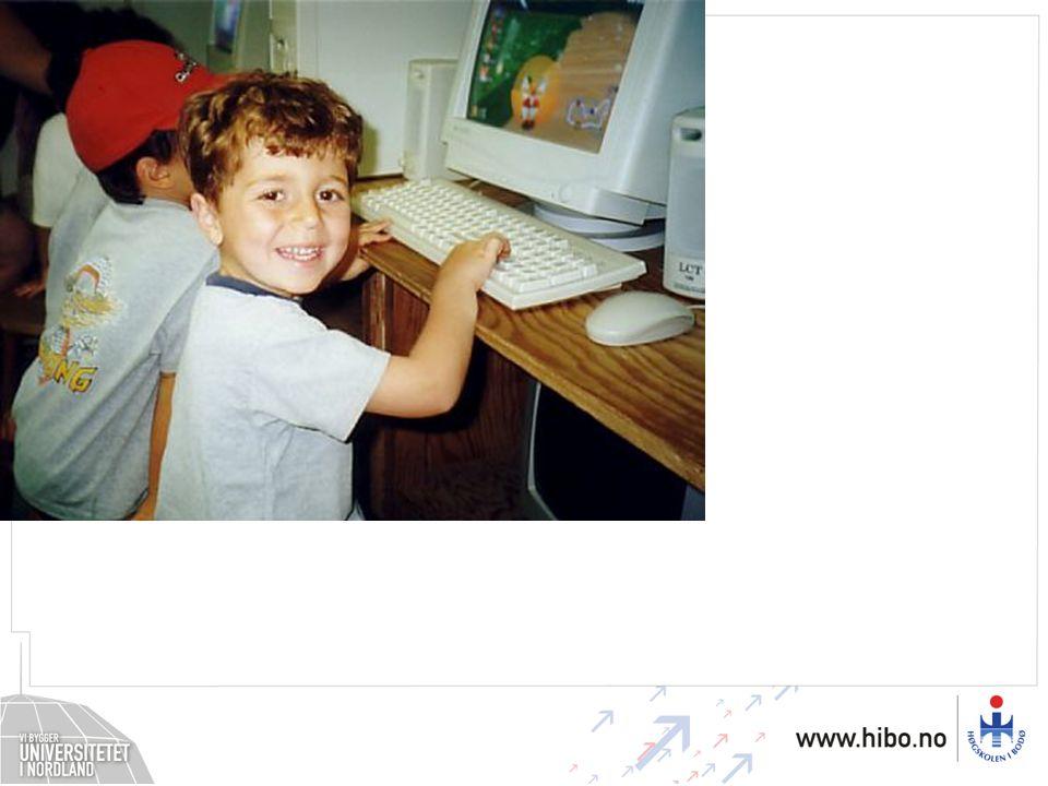 Mange barn blir PC-brukere i førskolealder