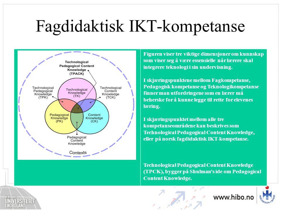 Fagdidaktisk IKT-kompetanse