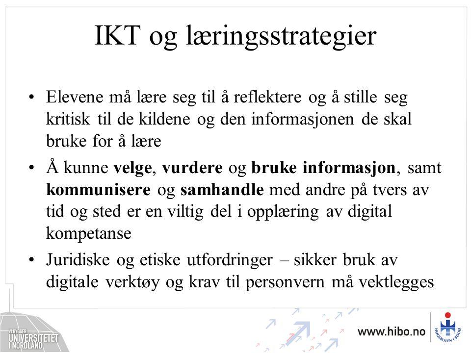 IKT og læringsstrategier