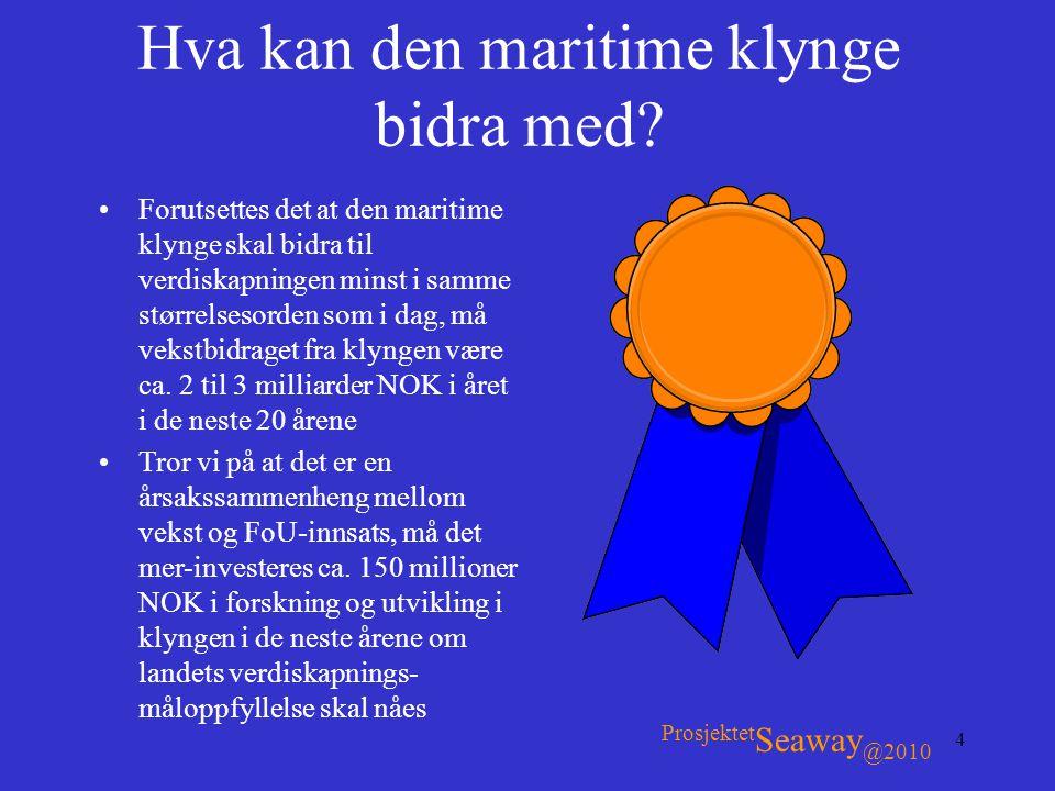 Hva kan den maritime klynge bidra med