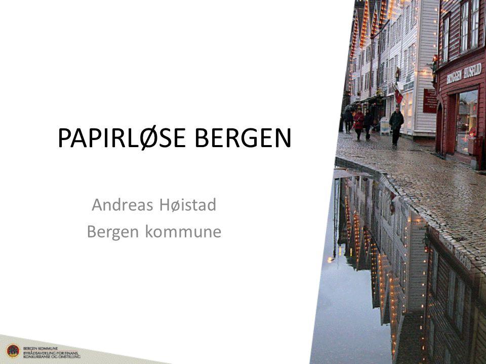 Andreas Høistad Bergen kommune