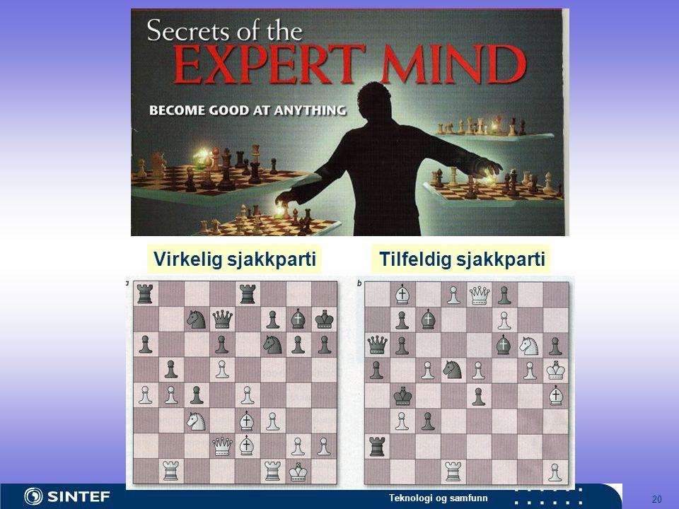 Virkelig sjakkparti Tilfeldig sjakkparti