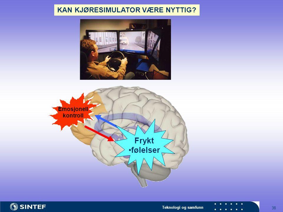 KAN KJØRESIMULATOR VÆRE NYTTIG