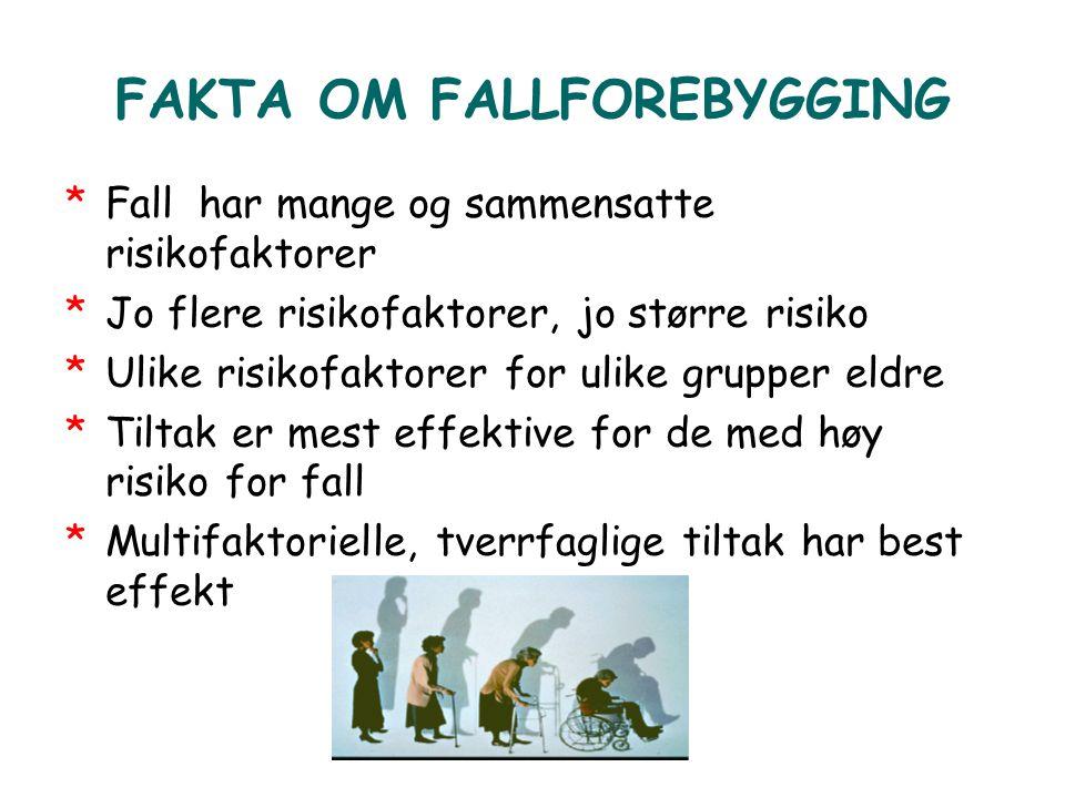 FAKTA OM FALLFOREBYGGING