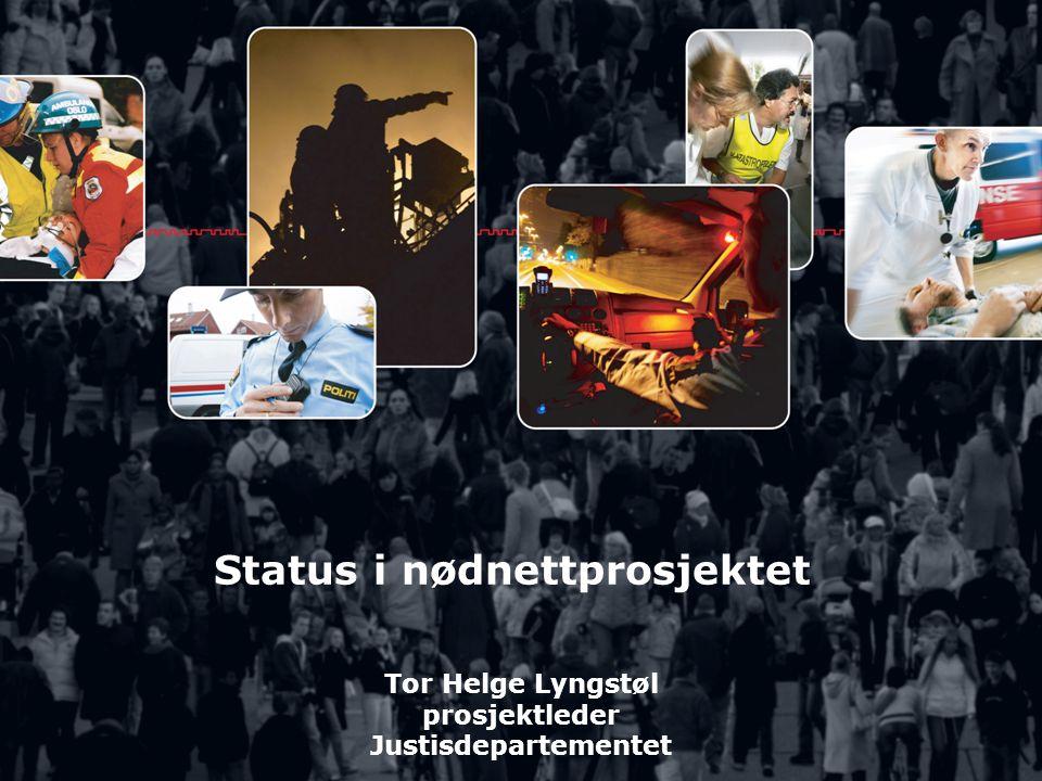 Status i nødnettprosjektet