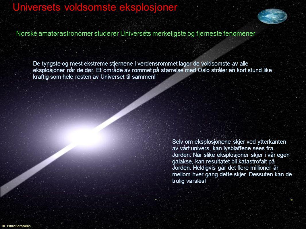 Universets voldsomste eksplosjoner