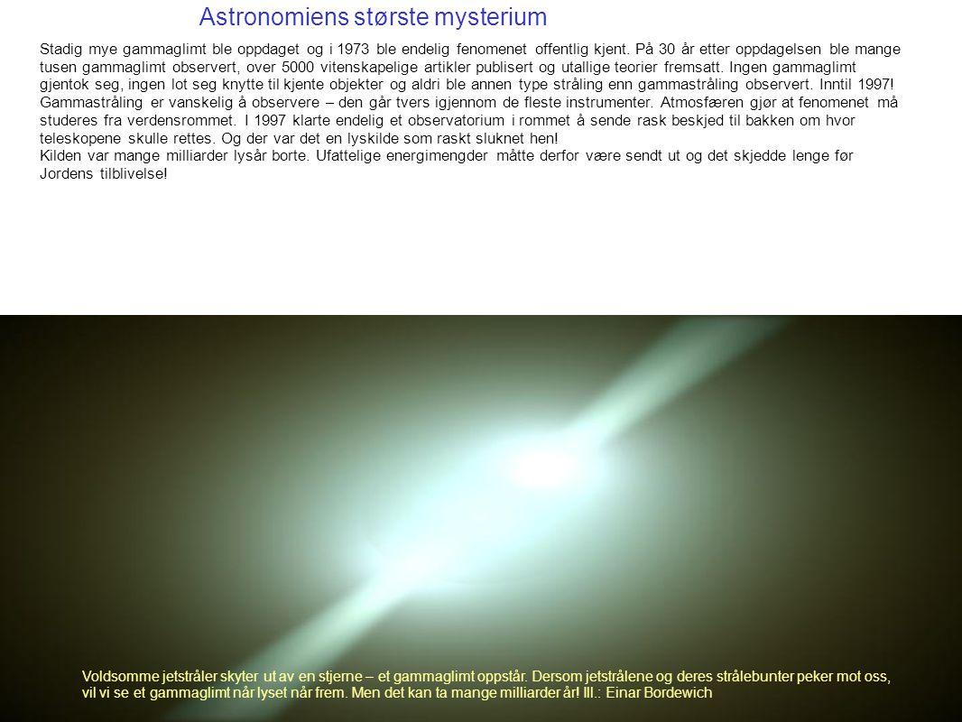 Astronomiens største mysterium