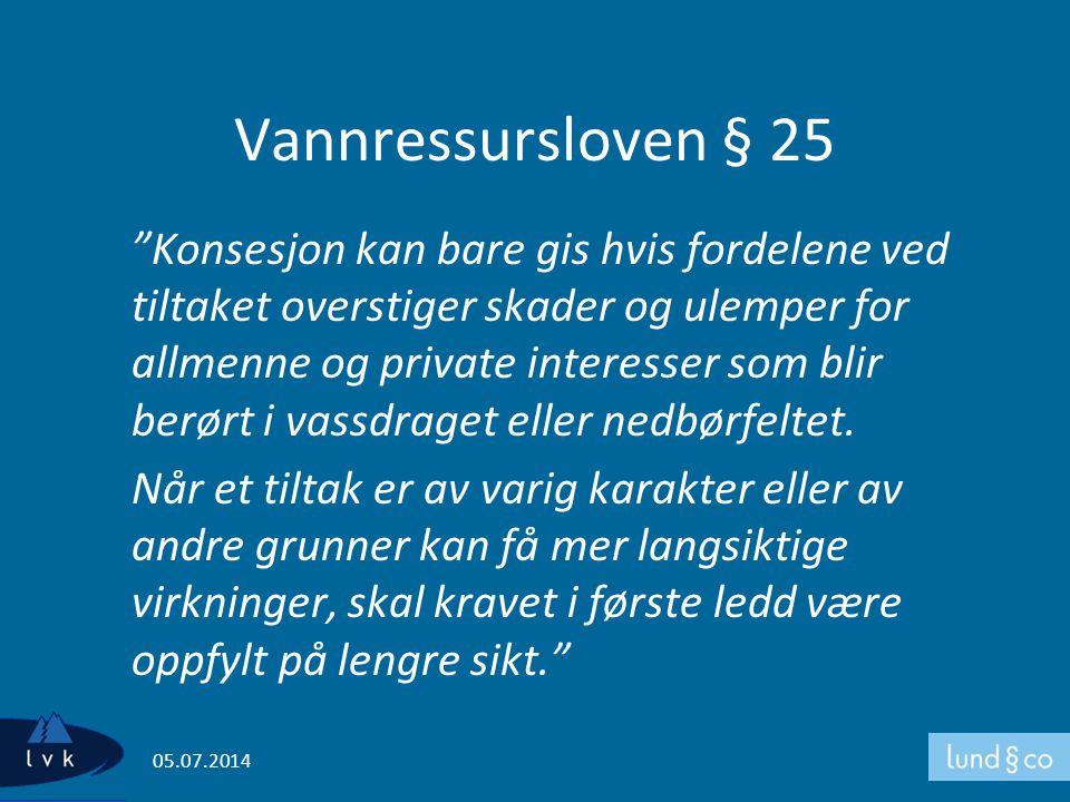 Vannressursloven § 25