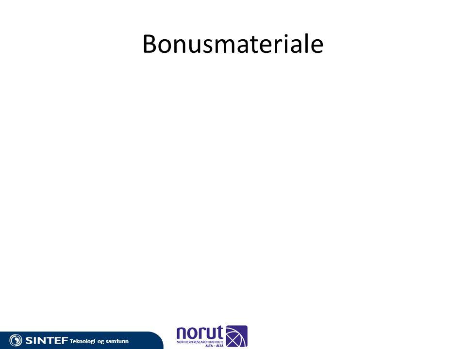 Bonusmateriale