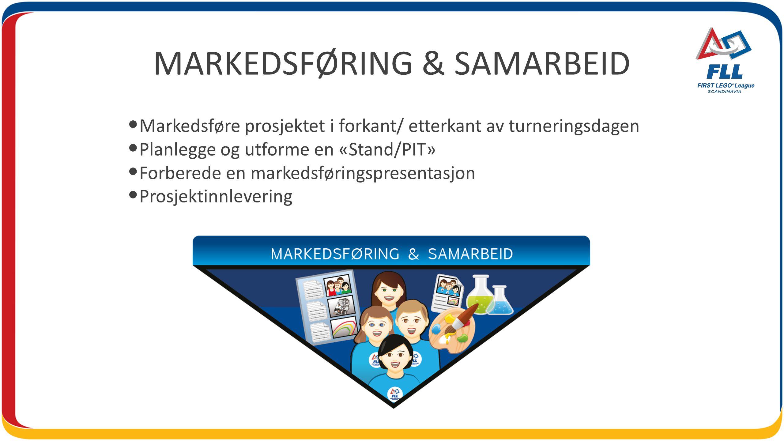MARKEDSFØRING & SAMARBEID