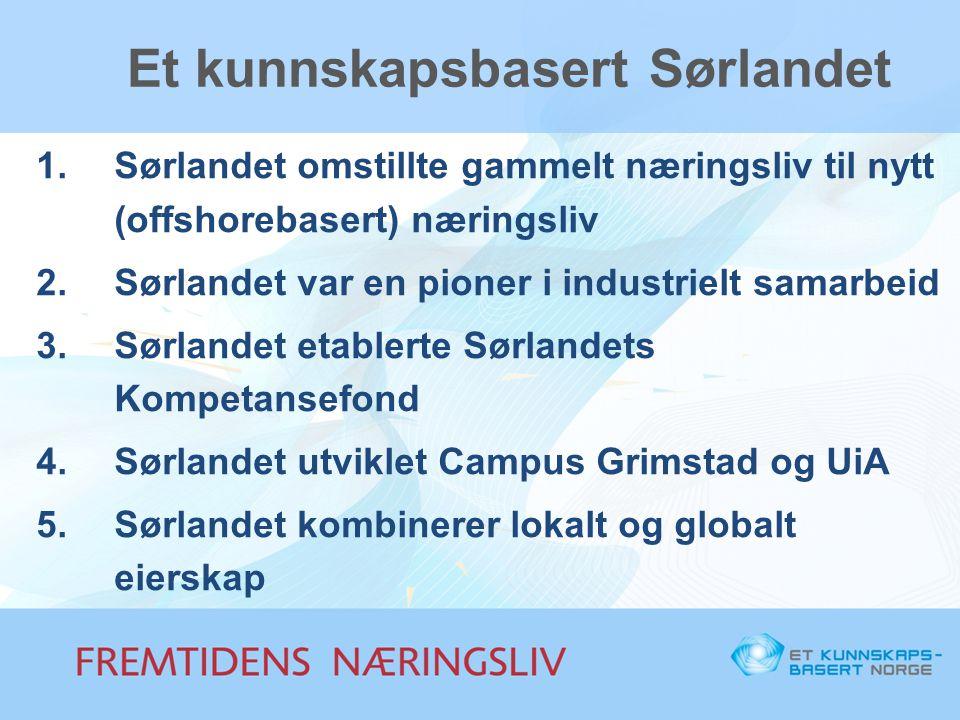 Et kunnskapsbasert Sørlandet