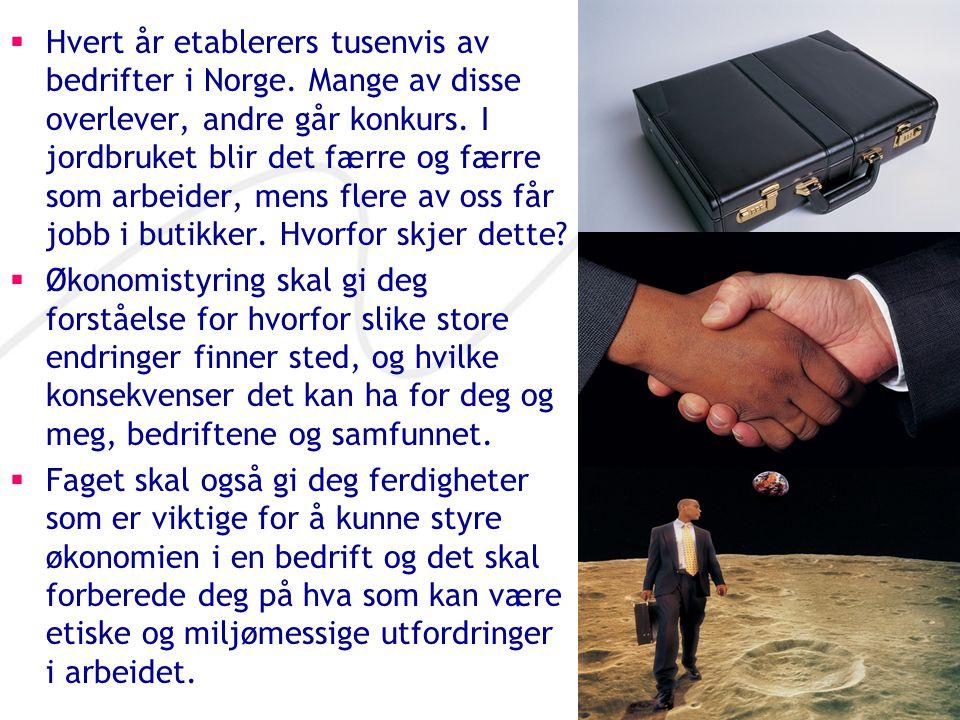 Hvert år etablerers tusenvis av bedrifter i Norge
