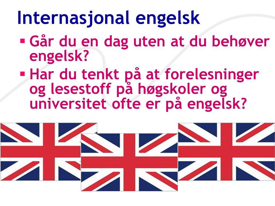 Internasjonal engelsk