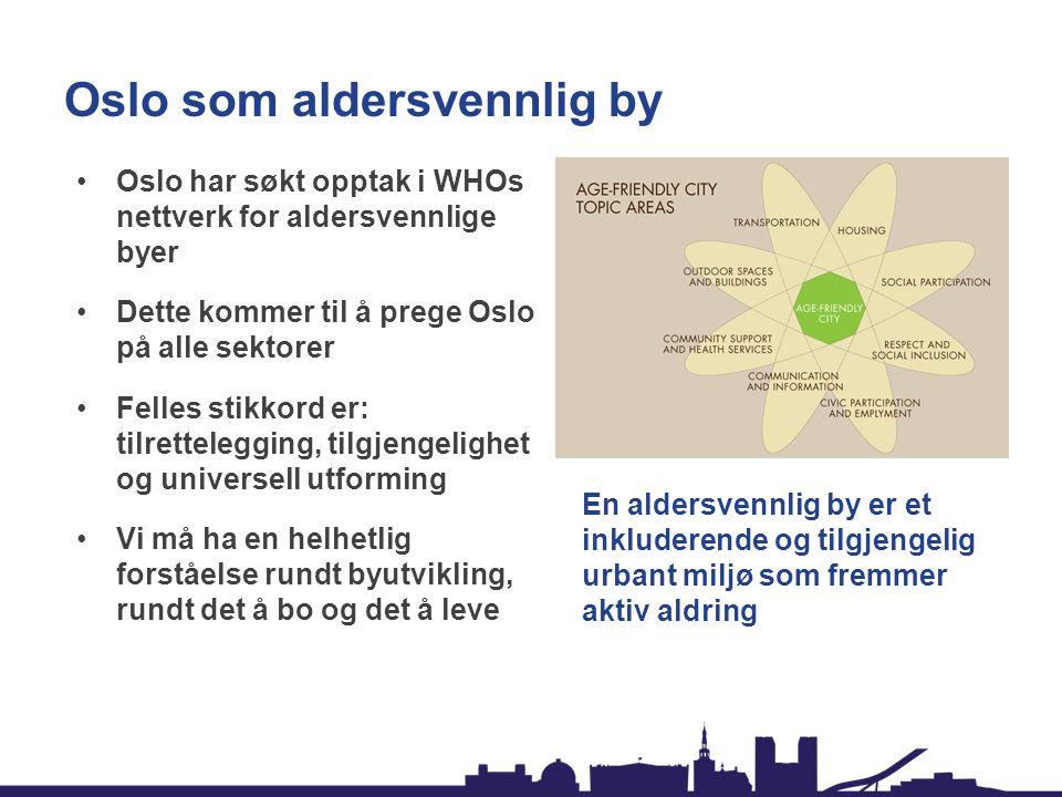 Oslo som aldersvennlig by
