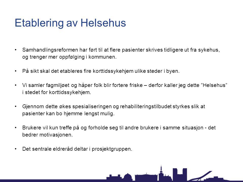 Etablering av Helsehus