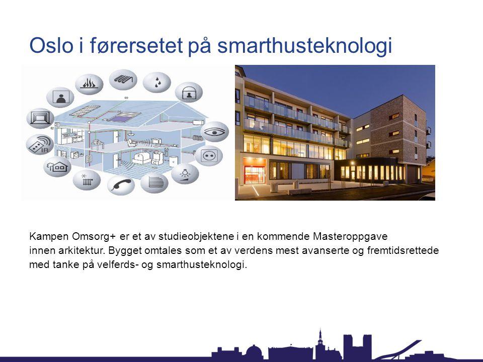 Oslo i førersetet på smarthusteknologi