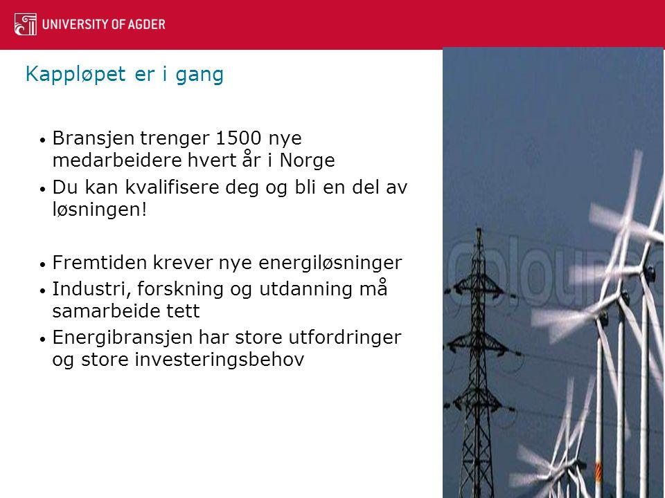 Kappløpet er i gang Bransjen trenger 1500 nye medarbeidere hvert år i Norge. Du kan kvalifisere deg og bli en del av løsningen!