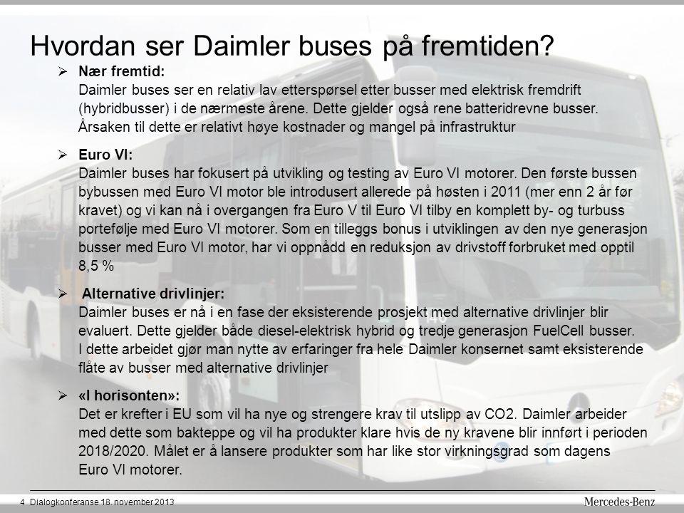 Hvordan ser Daimler buses på fremtiden