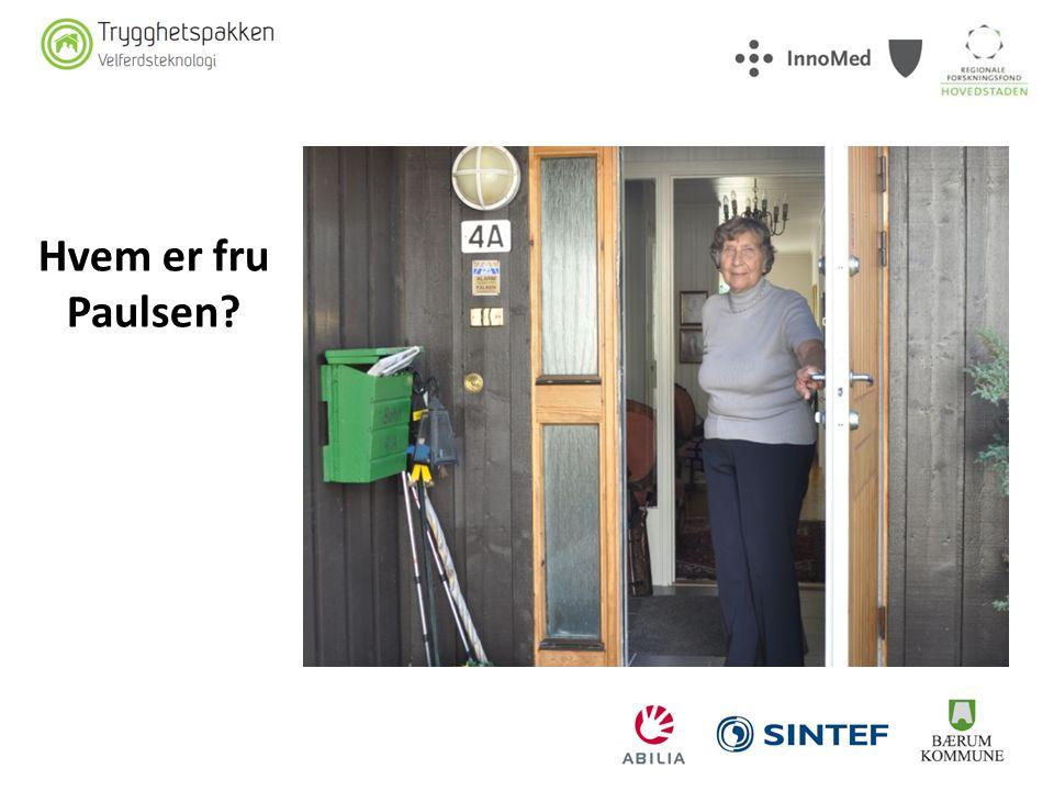 Hvem er fru Paulsen KRISTIN (Intro til film) Hvem er fru Paulsen