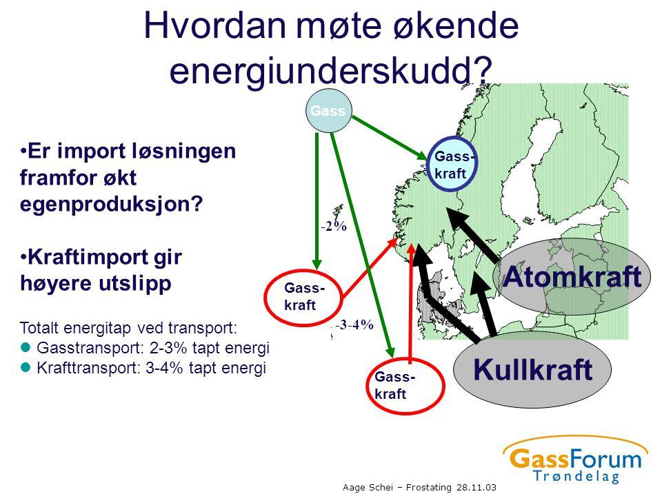 Hvordan møte økende energiunderskudd