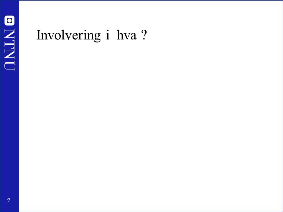 Involvering i hva
