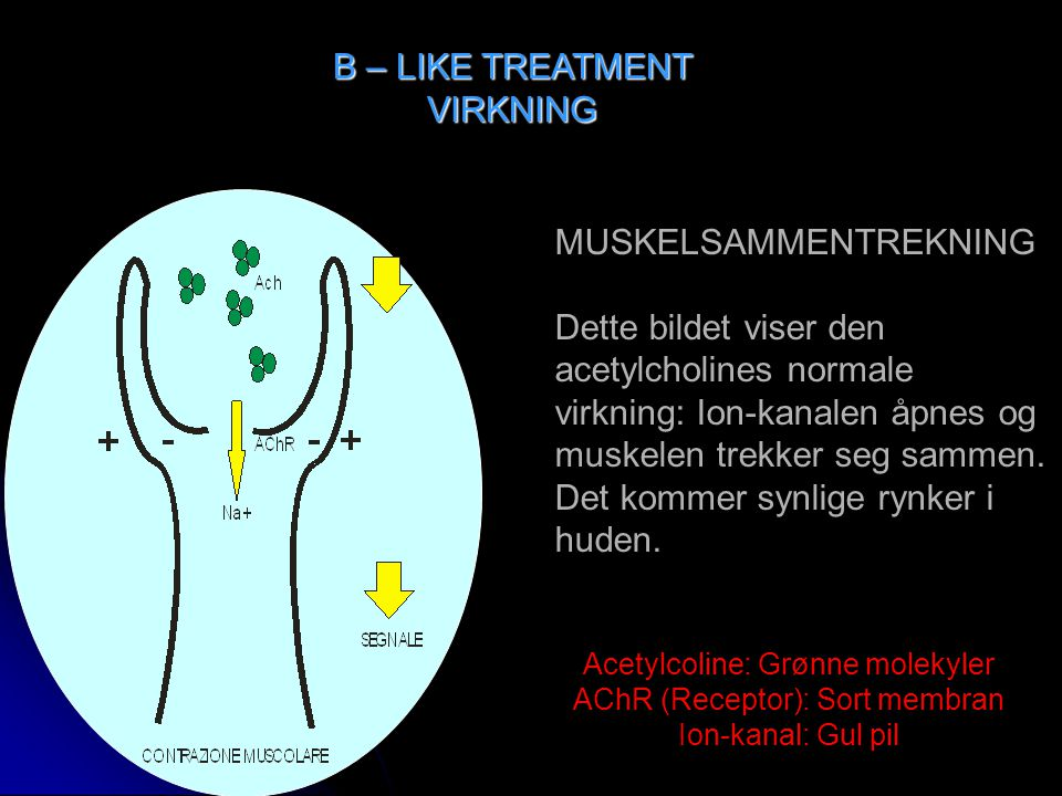 B – LIKE TREATMENT VIRKNING