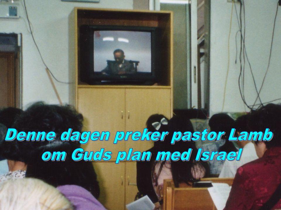 Denne dagen preker pastor Lamb