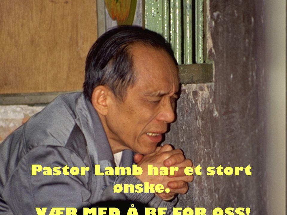 Pastor Lamb har et stort ønske.