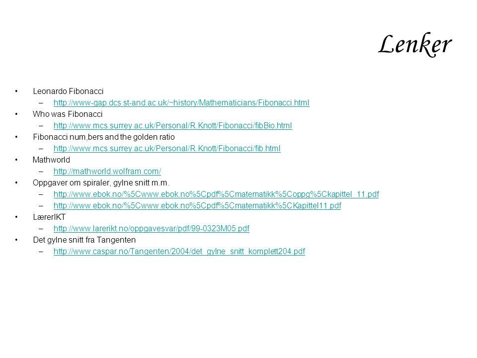 Lenker Leonardo Fibonacci