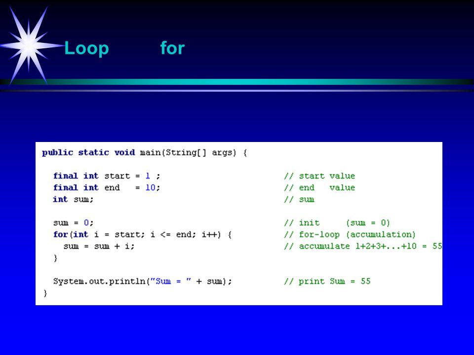 Loop for