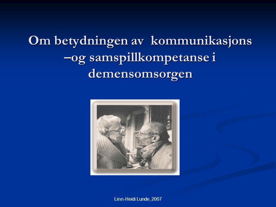 Linn-Heidi Lunde psykologspesialist